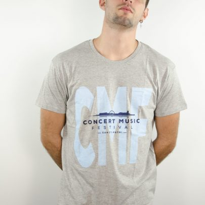 camiseta gris concert music